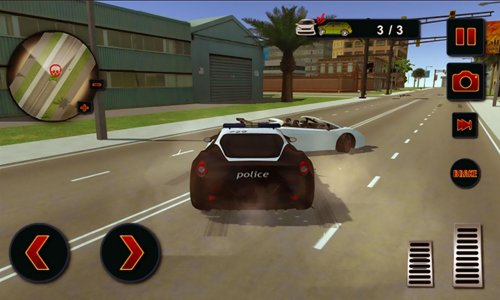 LA Mafia Police War Chase 2016