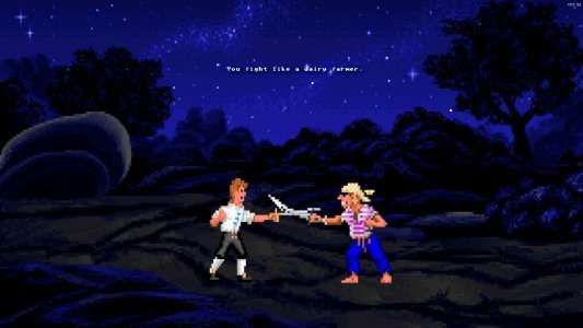 Monkey Island Swordfight