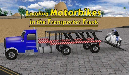 Moto Transporter Big Truck