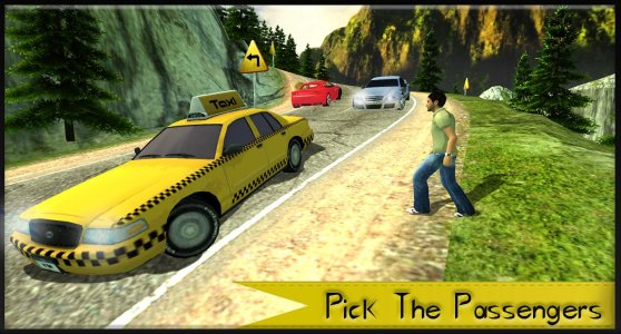 Mountain Taxi Driver: Driving 3D Games