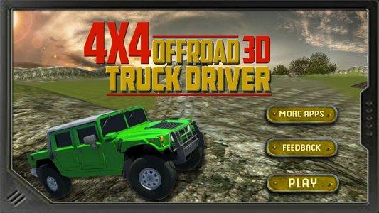 Offroad 4x4 Truck Driver 3D