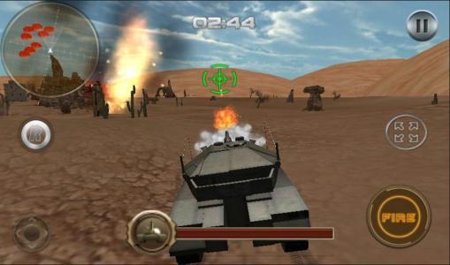 Panzer sim tangki perang