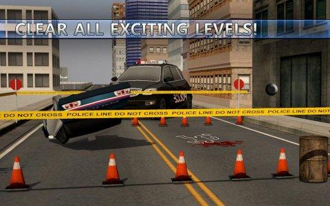 Police Car Suv & Bus parking
