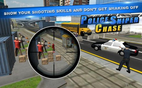 Police city sniper: strike sniper head-shot