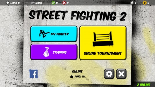 Street Fighting 2: Multiplayer