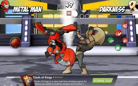 الأبطال الخارقين القتال ألعاب الظل معركة