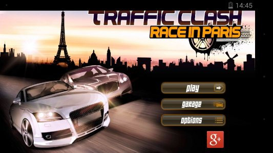 Traffic Clash : race in Paris
