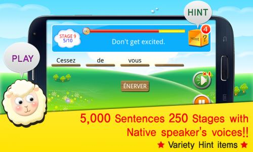 TS French Conversation Game