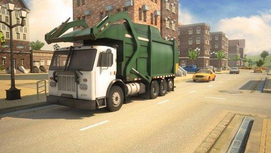 Garbage Truck Simulator 3D Racing Games 2017
