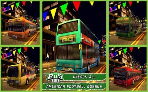 American Football Bus 2016