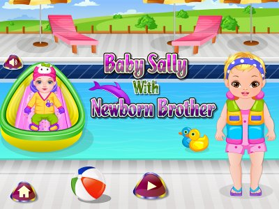 Baby Sally Newborn Brother