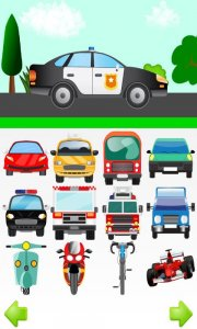 Cars For Kids Free Touch Game