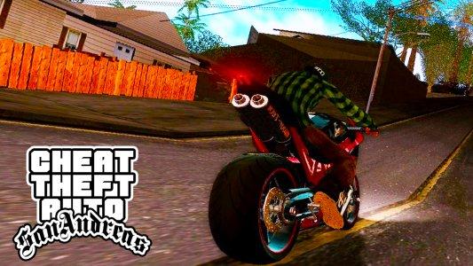 Cheat for GTA San Andreas