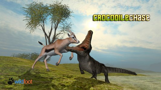 Crocodile Chase Simulator