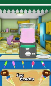 Frozen ice cream cooking games