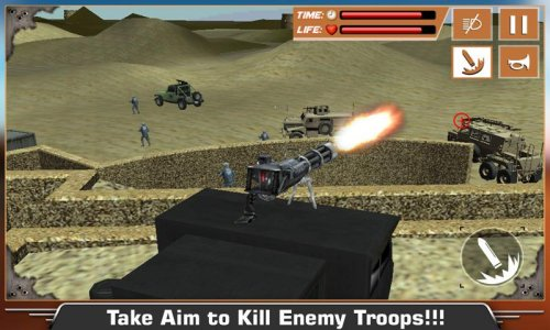 Deserto Militar Base War Truck