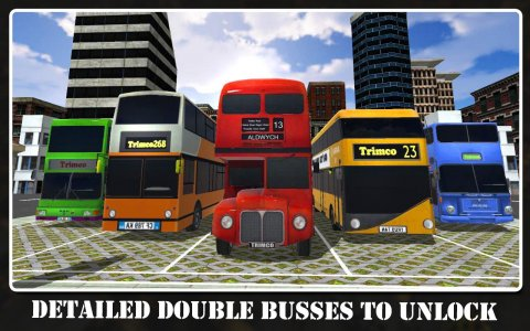 Double City Bus Simulator 16