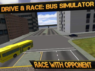 Highway Bus Simulator: City Bus Race Driver