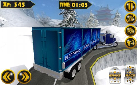 Euro Transport Truck Driver