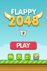 Flappy 2048 - Endless Combat