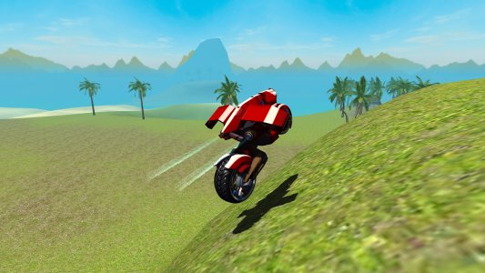 Flying Motorcycle Simulator