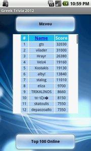 Greek Trivia 2012