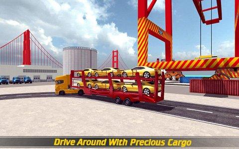 Heavy Car Transport Truck 16
