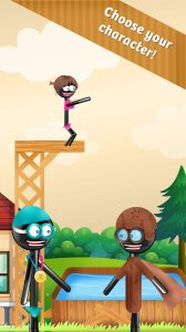 Stickman High Diving 2