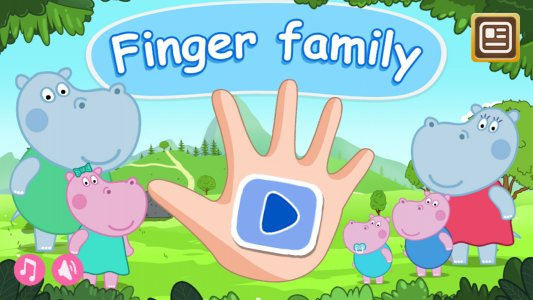 Finger Family: Interactive game-song