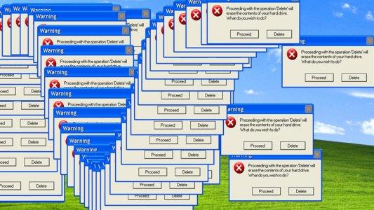 Efsane XP hatası