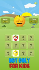 Mem Fruits - find and match pairs