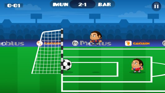 Mini Football Head Soccer Game