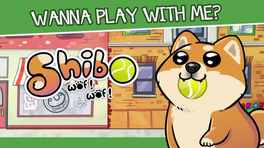 Perro Virtual Shibo - Mascota Virtual y Minijuegos