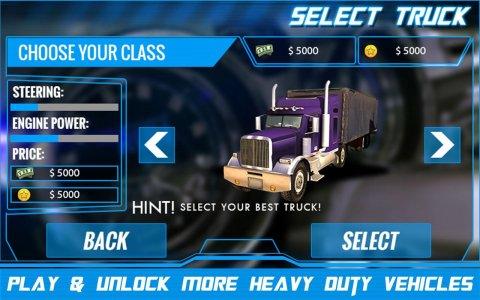 Transporter Truck Parking 3D