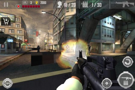 Urban Commando Shooting