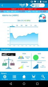 Waylz:Virtual Stock Market App