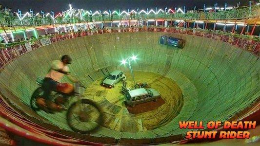 Well Of Death Car Stunt Rider