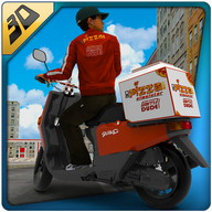 3D Pizza Boy Rider Simulator