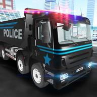 Police Truck 3D Simulator 2016