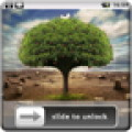 3D Trees Lock Screen Wallpaper