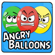 Angry Balloons - Balloons can get angry too