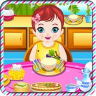 Baby Games Danny Feeding