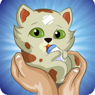 Baby Pet Nursery, Caring Game