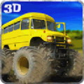 Big Bus Driver Hill Climb 3D