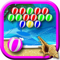 Bubble Shooter Beach Balls