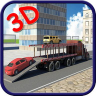 Car Transporter Truck Sim