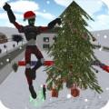 Christmas Rope Hero
