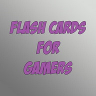 Flash Cards For Gamers