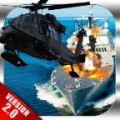 Gunship Helicopter-Army Battle