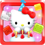 Hello Kitty Jewel Town! - Break colored jewels with Hello Kitty